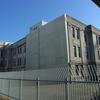 柵に囲まれたままの旧岐阜総合庁舎