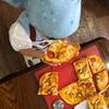 【レポート】手作りピザと冷たいコーンスープ