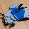 冬登山用の手袋として モンベル パウダーグローブ