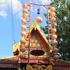 """〖タイの「市の柱」〗 本来の""""市の柱""""ではないが市の柱として存在する神社"""