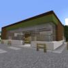 【Minecraft】 フ〇ミマ風のコンビニを建てる