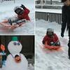 冬将軍と長男(4歳)がハシャいだ日「お父ちゃんスノーパーク」オープン