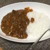 夜ごはん☆煮込みハンバーグのソースを活用したカレー