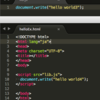 JavaScriptの基本的な書き方