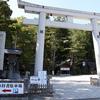 台風一過と神社とお城(2017年9月19日)