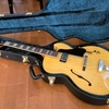 Archtop Tribute AT105Mっていうジャズギター(フルアコ)を買いました