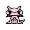 ミュウ(ポケモン)の色のぷちゴン|ぷちゴン