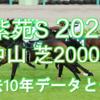 【紫苑S 2020】過去10年データと予想