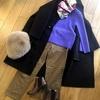 【30代ファッション】パープルのニットコーデ ①