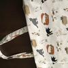 母に暇つぶしの裁縫をしてもらう・マチ付トートバッグ 1枚仕立て(高齢者の暇つぶし・入院中)