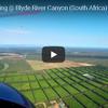 ウルトラライトプレーンから眺める南アフリカの絶景