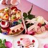 【ネット予約OK!】華やかピンクのラデュレ サロン・ド・テのポンパドゥールアフタヌーンティー