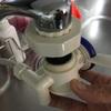 浄水器蛇口の水漏れを直す(直せない)