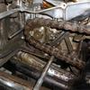 GT380 チェーンカバー内清掃