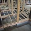 床の断熱性が大幅向上!床下地が完成しました