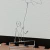 「むかえが来たので帰ります」 エイリアンのワイヤーオートマタ