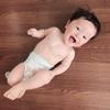 10ヶ月乳児健診へ~( ¨̮⋆)