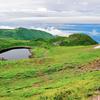 鳥海湖(山形県遊佐)