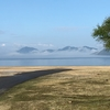 2回目の うさぎ島 雨降りの大久野島、休暇村周辺風景