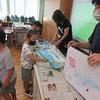 1年生:図工 初めての水彩絵の具
