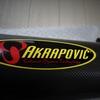 Akrapovicのスリップオンマフラーを装着しました