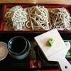 石川県白山市にあるお蕎麦屋さん、手打蕎麦じょんがらで3種のそば盛り合わせ。