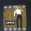 656 ビンテージ LEVI'S サドルマン Tシャツ 80's90's