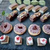 *まるでケーキ屋さん♥クッキーで作る可愛いミニチュアケーキ*