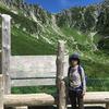 中央アルプス 木曽駒ケ岳の千畳敷カールのその上まで