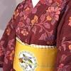 アンティーク着物で「池田重子横浜スタイル展」へ