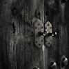 法隆寺東院伽藍夢殿の木扉