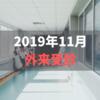 2019年11月外来受診【温泉効果でクレアチニン改善】