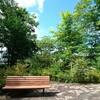 軽井沢町役場前の公園