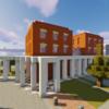 西洋建築風のオフィスを建てる【Minecraft】