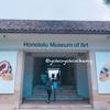 ホノルル美術館に行く#ハワイ留学