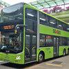 シンガポールのバスたち