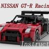 【レゴ自作動画】GT-Rのレーシング仕様を作る