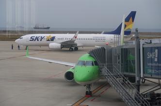 【新規就航】FDA816便  神戸・出雲線搭乗記(出雲14:45→神戸15:35)