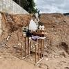 【自宅建築ログ】井戸を埋めるために井戸祓いの儀式「水神上げ」を執り行った