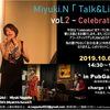 Talk&Live vol.2 受付スタート!