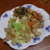 幸運な病のレシピ( 944 )昼:豚バラとキャベツの炒め物(豆豉、豆板醤ピリ辛風味)