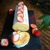 スポンジを楽しむロールケーキ(別立て)