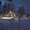 北極線上のリゾート@Santa's Igloos Arctic Circle フィンランド ロバニエミ