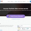 YouTube分析ツール「vidlQ」:Chrom拡張機能