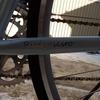 津波に流された自転車に代わり
