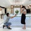 二人を結ぶRIBBON(香川 高松 婚約指輪 エンゲージリング)