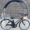 ≪屋根付き自転車コロポックル≫取り付け位置を変更してみた。
