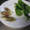 暑い日の天ぷら料理