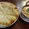 インドカレー+チーズナン♪