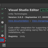 【Unity】Error detecting Visual Studio installations: System.ArgumentException: JSON parse error: Invalid escape character in string(2020/9/20更新)